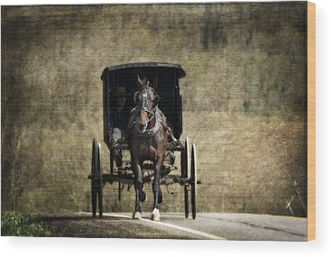 Horse And Buggy Wood Prints