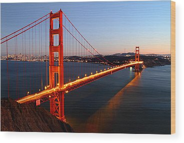 Golden Gate Wood Prints