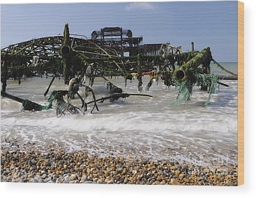 Brighton Pier Wood Prints