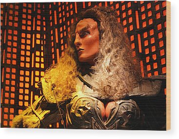 Klingon Wood Prints