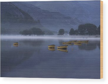 Llyn Padarn Wood Prints