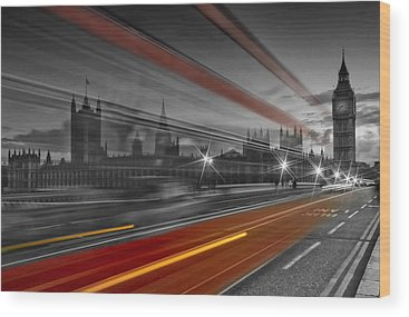 London Landmarks Wood Prints