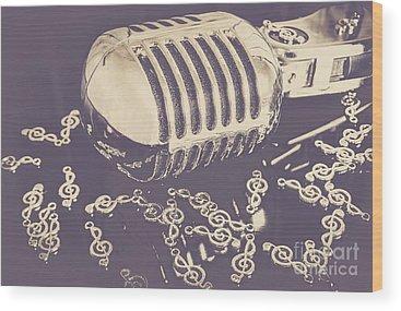 Cool Jazz Wood Prints