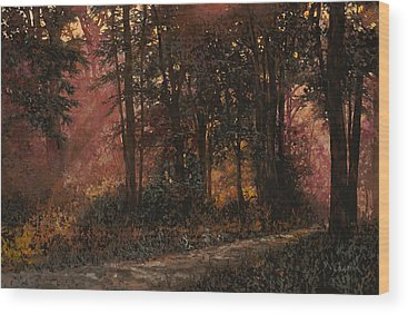 Sunlight Wood Prints