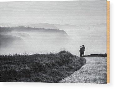 Walk Wood Prints