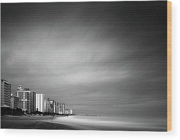 Myrtle Beach Wood Prints