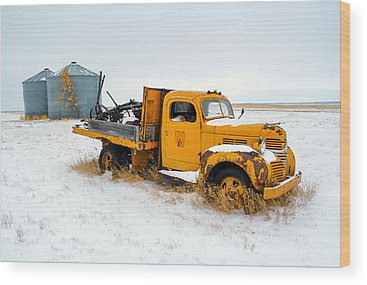 Trucks Wood Prints