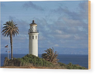 Point Vicente Wood Prints