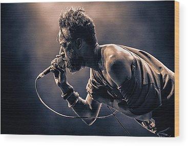 Rap Photographs Wood Prints