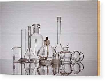 Chemical Wood Prints
