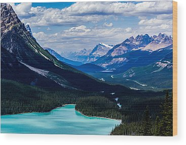 Peyto Lake Wood Prints