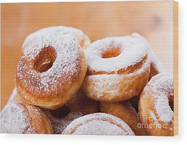 Krapfen Wood Prints