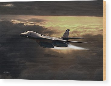 Supersonic Speed Wood Prints