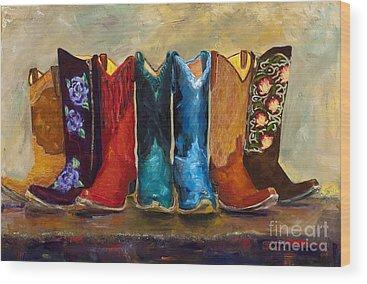Cowgirl Wood Prints