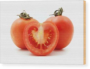 Tomato Wood Prints