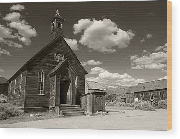 Bodie Ghost Town Wood Prints