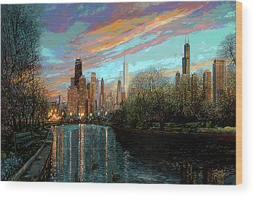 Chicago Wood Prints