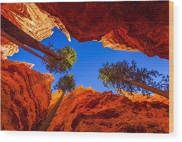 Geology Wood Prints