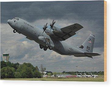 C-130 Wood Prints