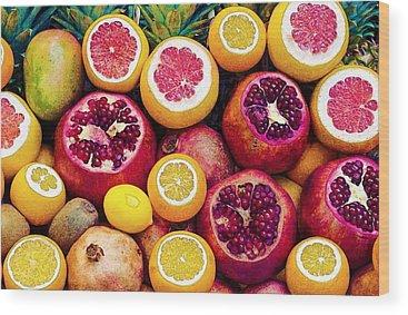 Fruits Wood Prints