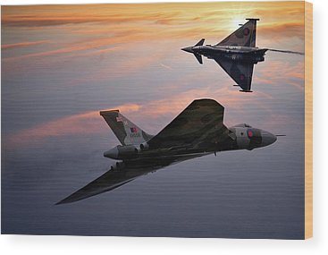 Avro Vulcan Wood Prints