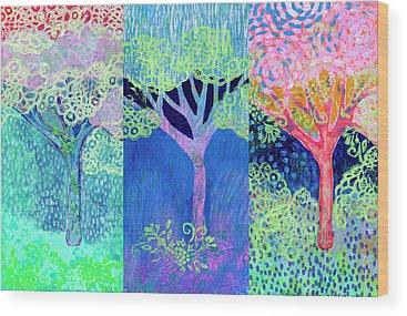 Triptych Wood Prints