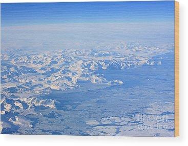 Ice Floes Wood Prints