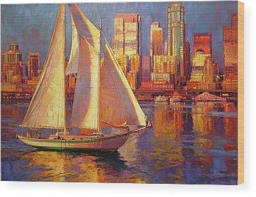 Sailing Vessel Wood Prints