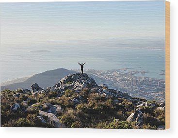 Table Mountain Wood Prints