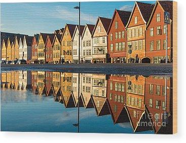 Scandinavian Style Wood Prints