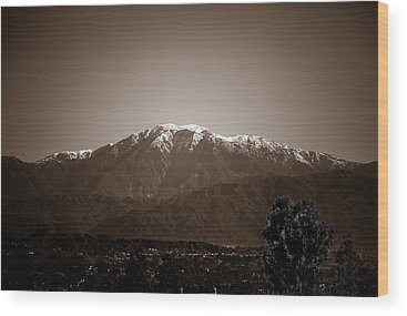 Mt Baldy Wood Prints