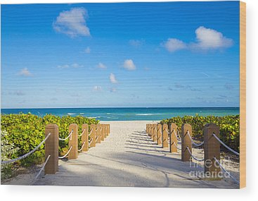 Florida Scenery Photographs Wood Prints