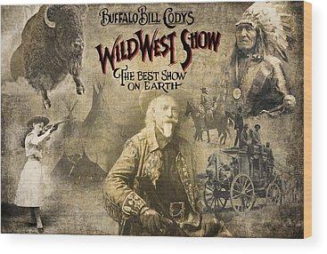 Buffalo Bills Wood Prints
