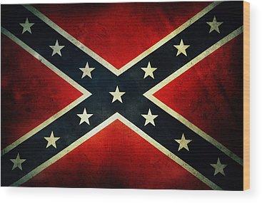 Confederate Wood Prints
