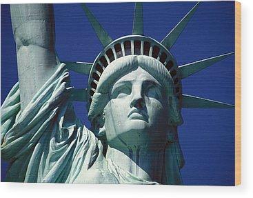 Statue Of Liberty Wood Prints