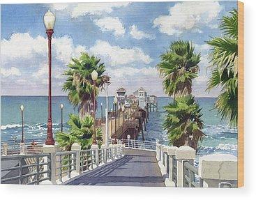 Pacific Ocean Wood Prints