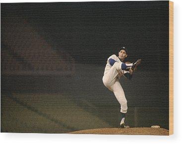 Baseball Hall Of Fame Photographs Wood Prints