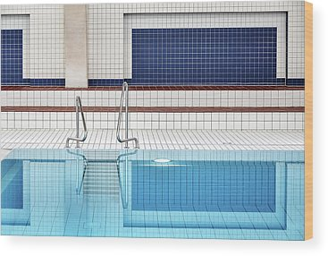 Swimming Pool Wood Prints