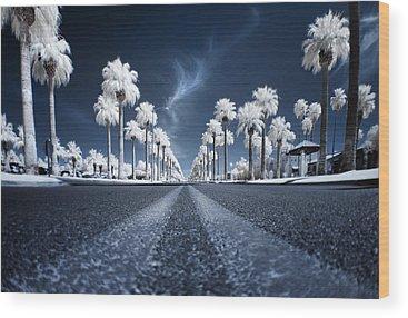 Roads Wood Prints