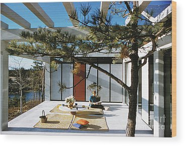 Futurism Architecture Wood Prints