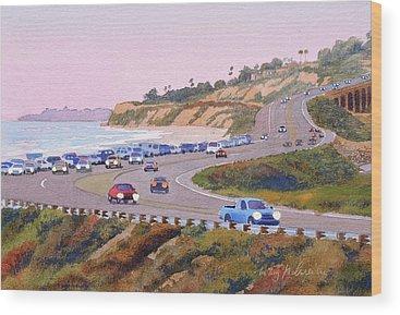 Pacific Coast Highway Wood Prints