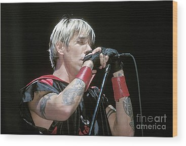 Red Hot Chili Peppers Wood Prints