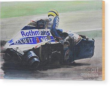 Motorsport Wood Prints