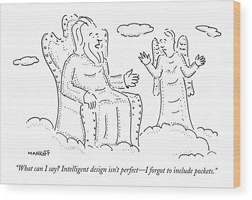 Creationism Wood Prints