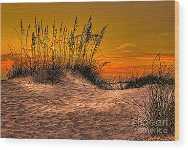 Jacksonville Beach Wood Prints