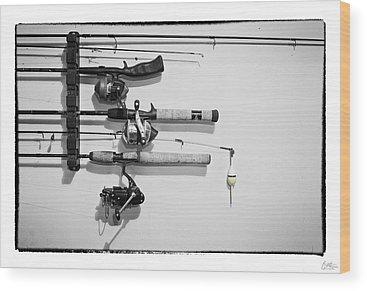 Angler Wood Prints