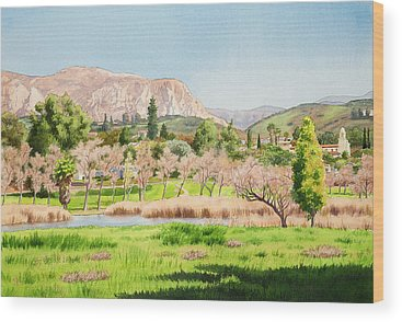 Missions California Wood Prints