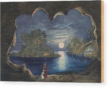 Magic Island Paintings Wood Prints