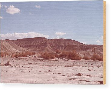 Anza Borrego Wood Prints
