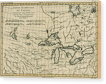 Great Lakes Region Wood Prints